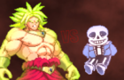 Sans vs broly : Short