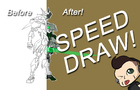 Mecha Genji Speed Draw!