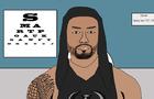 Roman Reigns Visits the Opticians