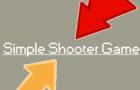 Simple Shooter/Reflexes Game