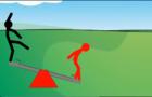 Stick Baits cartoon - men and playgrounds