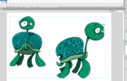 Illustrate Characters for a Book: Turtle Story Example