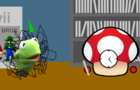 Super ShroomClock meets Pupe Muppet