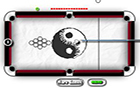 Black and White Billiard