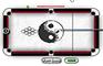 Black and White Billiard