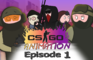 CS:GO ANIMATION. Episode 1 (De_dust2)