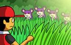 Walking through grass in Pokemon