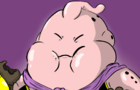 Majin Buu loves muffins speedpaint