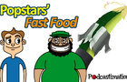 Popstars' Fast Food Improv Cartoon