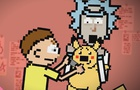 Rick and Morty in Pokemon