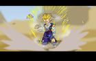 ANIMATION PROGRESSION( teen gohan ssj 2 fan animation)