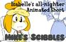 """Isabelle's All-Nighter"" Short FAN Animation (LOOP)"