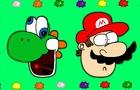 Super Mario Galaxy 2 Parody - Yoshi's Star Bits