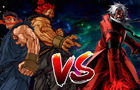 Evil Ryu and Akuma Vs God Rugal