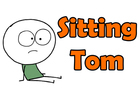 Sitting Tom - CrapToon
