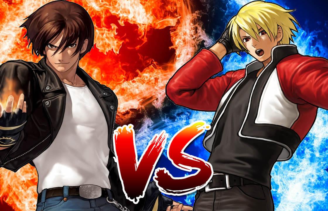 Kyo Kusanagi Vs Rock Howard Fatal fury (garou densetsu) mark of the wolves (dreamcast) song name: kyo kusanagi vs rock howard