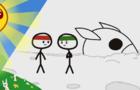 Jaycartoons: Lunar Landed