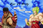 Ryu Vs. Broly
