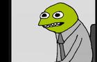 """The Irritated Frogman"""