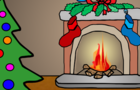 Christmas Fireplace Animation