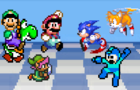 Mario v Sonic: Dawn of CLASH Bros