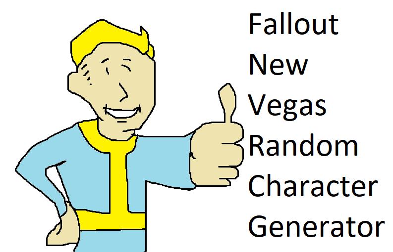 Fallout NV Random Character Generator
