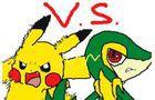 Pikachu Vs Snivy (FS3D)