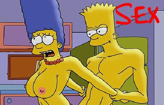 Cartoon porno Simpsons Bart