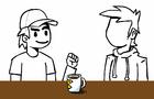 Jazz improvisado (animatic) (animación en proceso)