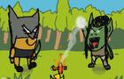 HearthStone Parody (flipaclip animation) Rexxar vs Thrall