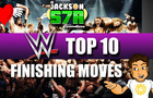 Top 10 WWE Finisher | Stick Figure Animation | Jackson S7R