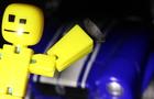 StickBot vs Car Stop Motion
