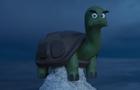 A turtle in peril