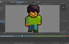 Ches Does Simple Character Sprite Speed Paint