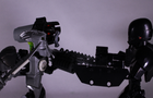 stop motion short: WarHead vs Attack Droid