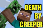 DEATH BY CREEPER | Minecraft Animation (TEST)
