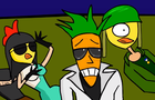 "Radioactive Chicken Heads ""Liquid Fat"" music video"