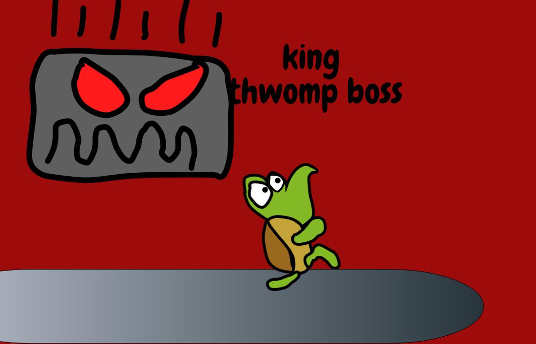 Thwomp Boss