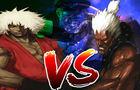 Violent Ken VS Shin Akuma