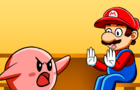 Kirby calls out Mario (Animatic)