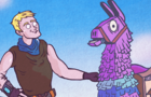 Fortnite Animated - Lucky Llama