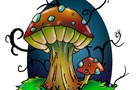 Let's draw with Dremen - Dark Woods Mushrooms