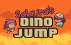 Sakura's Dino Jump