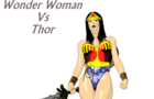 Thor Vs WonderWoman