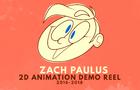 2D Animation Demo Reel, 2016-2018