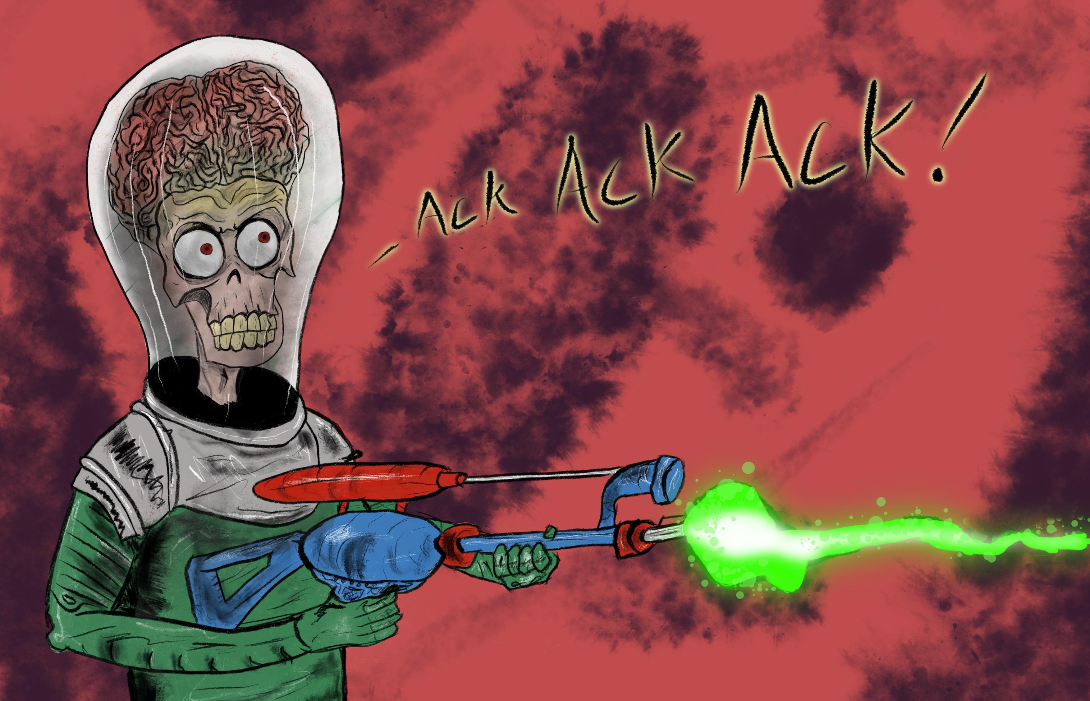 Ack Ack Ack por tanosixxx | Dibujando