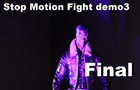 stop motion fight demo3(withsound)