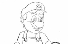 Super Mario Drawn Animation