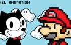 Meeting With Felix Original Pixel Animation