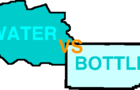 Water vs Bottle